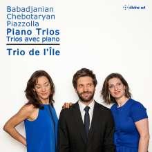 Trio de l'Ile - Klaviertrios von Babadschanian / Chebotaryan / Piazzolla, CD