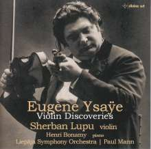 Eugene Ysaye (1858-1931): Violinkonzert g-moll, CD