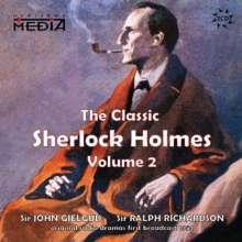 John Gielgud: Classic Sherlock Holmes Vol 2, CD