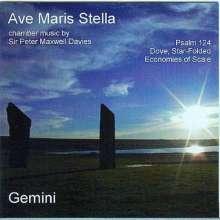 "Peter Maxwell Davies (1934-2016): Kammermusik ""Ave Maris Stella"", CD"