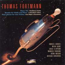 "Thomas Fortmann (geb. 1951): Klaviertrio ""Prolitheus Suite"", CD"