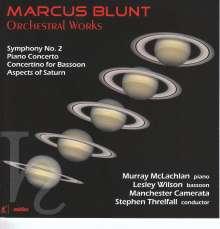 Marcus Blunt (geb. 1947): Symphonie Nr.2, CD