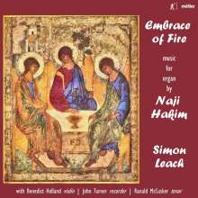"Naji Hakim (geb. 1955): Orgelwerke ""Embrance of Fire"", CD"