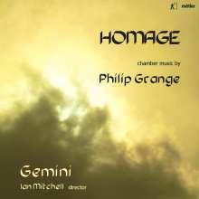 Philip Grange (geb. 1956): Kammermusik, CD