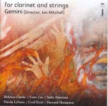For Clarinet and Strings, CD
