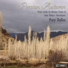 Hormoz Farhat (geb. 1928): Klaviersonaten Nr.1 & 2, CD