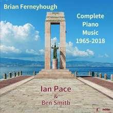 Brian Ferneyhough (geb. 1943): Sämtliche Klavierwerke, CD