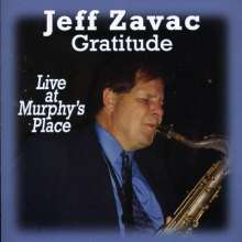 Jeff Zavac: Gratitude, CD