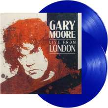 Gary Moore: Live From London (Limited Edition) (180g) (Light Blue Vinyl), 2 LPs
