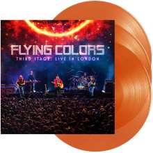 Flying Colors: Third Stage: Live In London (180g) (Limited Edition) (Orange Vinyl), 3 LPs
