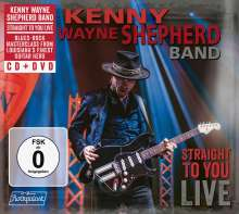Kenny Wayne Shepherd: Straight To You: Live, 1 CD und 1 DVD