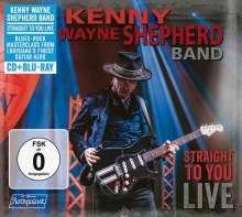 Kenny Wayne Shepherd: Straight To You: Live, 1 CD und 1 Blu-ray Disc