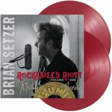 Brian Setzer: Rockabilly Riot! Volume One - A Tribute To Sun Records (180g) (Red Vinyl), 2 LPs