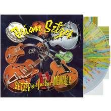 Brian Setzer: Setzer Goes Instru-Mental ! (180g) (Limited Edition) (Splatter Vinyl), LP