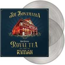 Joe Bonamassa: Now Serving: Royal Tea Live From The Ryman (180g) (Translucent Vinyl), 2 LPs
