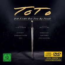 Toto: With A Little Help From My Friends, 1 CD und 1 DVD