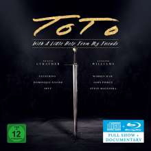 Toto: With A Little Help From My Friends, 1 CD und 1 Blu-ray Disc