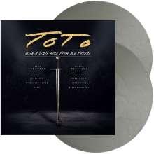 Toto: With A Little Help From My Friends (Limited Edition) (Silver Vinyl) (in Deutschland und Österreich exklusiv für jpc!), 2 LPs