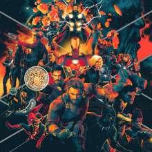 Alan Silvestri (geb. 1950): Filmmusik: Avengers: Infinity War (180g) (Yellow & Orange & Red Vinyl), 3 LPs