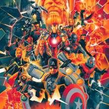 Alan Silvestri (geb. 1950): Filmmusik: Avengers: Endgame (180g) (Green & Blue & Pink Vinyl), 3 LPs