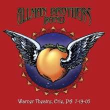 The Allman Brothers Band: Warner Theatre, Erie PA, 7-19-05, 2 CDs