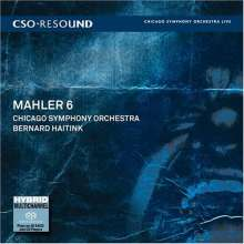 Gustav Mahler (1860-1911): Symphonie Nr.6, 2 Super Audio CDs