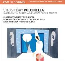 Igor Strawinsky (1882-1971): Pulcinella, CD