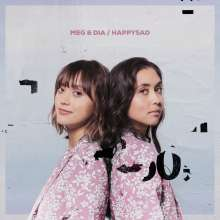 Meg & Dia: Happysad (Pink & White Vinyl), LP