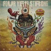 Four Year Strong: Brain Pain (Limited Edition) (Electric Blue & Bone Galaxy Vinyl), LP