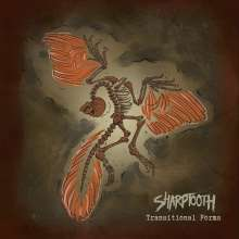 Sharptooth: Transitional Forms (Limited Edition) (Clear with Orange/Brown Splatter Vinyl), LP