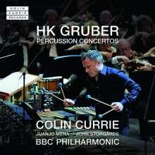 Heinz Karl Gruber (geb. 1943): Percussion-Konzerte, CD