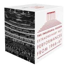 The Inaugural Season - Extraordinary MET Performances 1966/1967, 22 CDs
