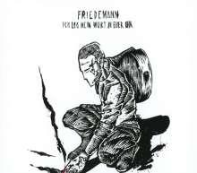 Friedemann: Ich Leg Mein Wort In Euer Ohr (Deluxe-Mediabook), CD