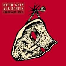 Friedemann: Mehr Sein als Schein (Friedemann Live II), 2 LPs