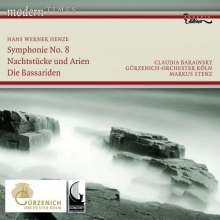 Hans Werner Henze (1926-2012): Symphonie Nr.8, CD