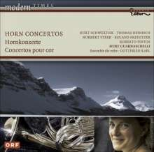 Hornkonzerte des 20. Jahrhunderts, CD