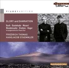 Glory and Damnation - Musik für 2 Klaviere, CD