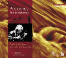 Serge Prokofieff (1891-1953): Symphonien Nr.1-7, 5 CDs