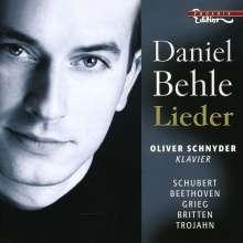 Daniel Behle - Lieder, CD