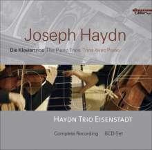 Joseph Haydn (1732-1809): Die 43 Klaviertrios, 8 CDs