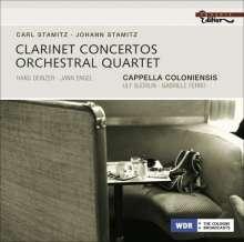 Carl Stamitz (1745-1801): Konzert für 2 Klarinetten B-Dur, CD