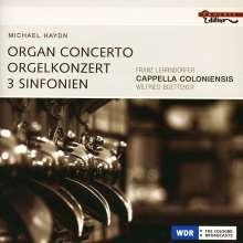 Michael Haydn (1737-1806): Symphonien Nr.11,35,41, CD