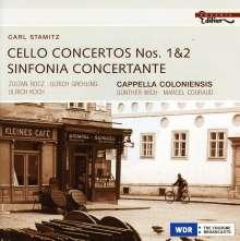 Carl Stamitz (1745-1801): Cellokonzerte Nr.1 & 2, CD