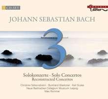 Johann Sebastian Bach (1685-1750): Rekonstruierte Konzerte, 3 CDs