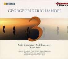 Georg Friedrich Händel (1685-1759): Kantaten, 3 CDs