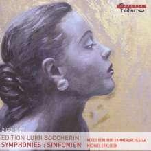 Luigi Boccherini (1743-1805): Symphonien G.515,517-522, 2 CDs