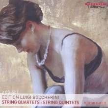 Luigi Boccherini (1743-1805): Streichquartette op.15 Nr.1;op.24 Nr.6;op.39;op.64 Nr.1, 2 CDs