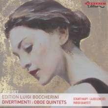 Luigi Boccherini (1743-1805): Divertimenti für Flöte & Streicher, 2 CDs