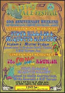 Deeply Vale Festival: 40th Anniversary Weekend, 3 DVDs