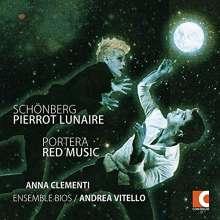 Pierrot Lunaire Op 21 / Red Music, CD